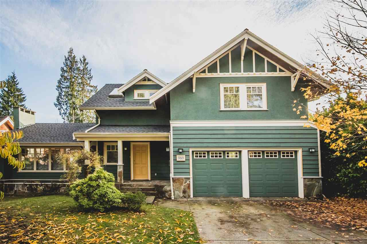 989 FOREST HILLS DRIVE, North Vancouver, BC, V7R 1N4 Photo 1