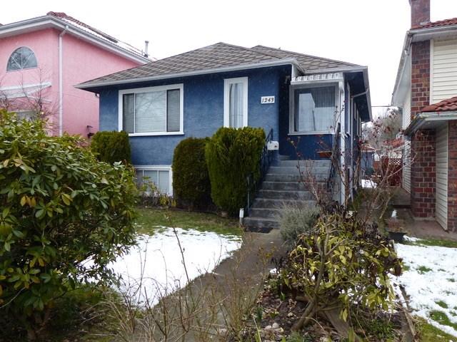 1243 W 64TH AVENUE, Vancouver, BC, V6P 2M7 Primary Photo