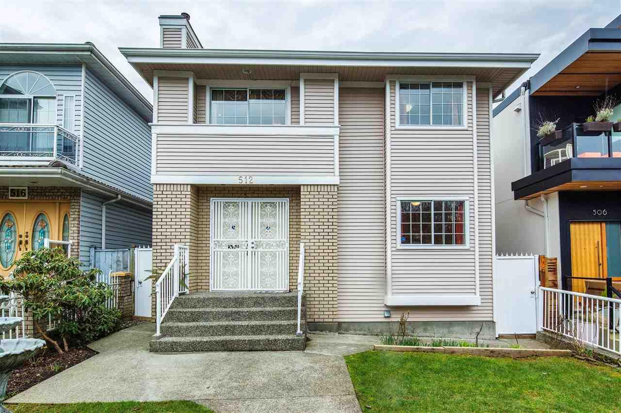 512 E 18TH AVENUE, Vancouver, BC, V5V 1G3 Primary Photo