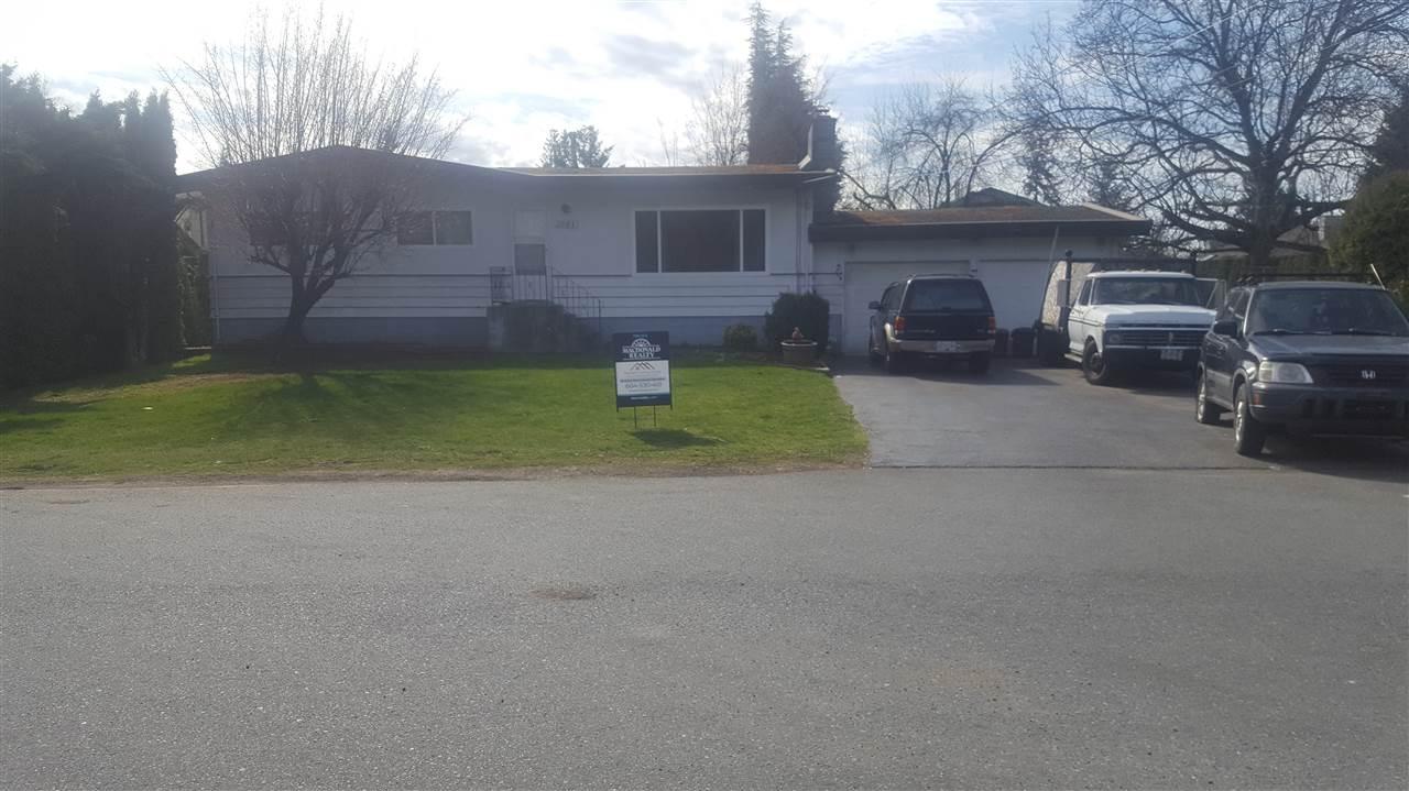 2081 PAULSON CRESCENT, Abbotsford, BC, V2S 1M6 Photo 1