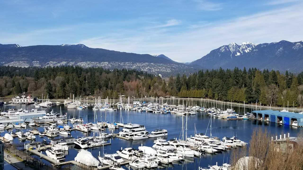 1503 1650 BAYSHORE DRIVE, Vancouver, BC, V6G 3K2 Photo 1
